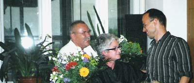 Ornella Fiorini e Christian Försch