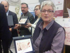 Ornella Fiorini premio UNPLI Roma