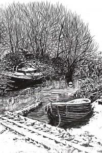 inverno nella valle